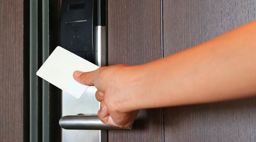 Keycards are more convenient to use than traditional keys and locks.