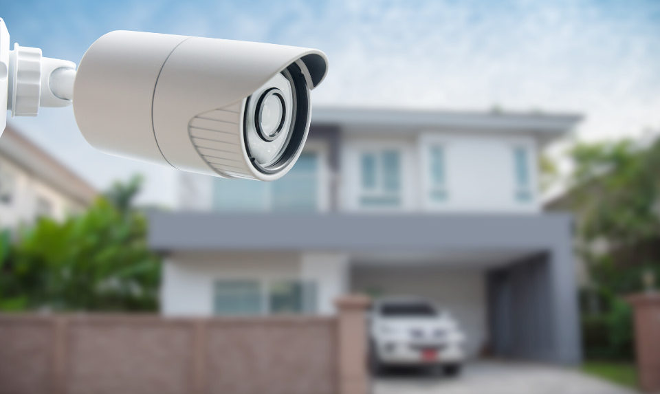 CCTV camera systems can give you peace of mind.